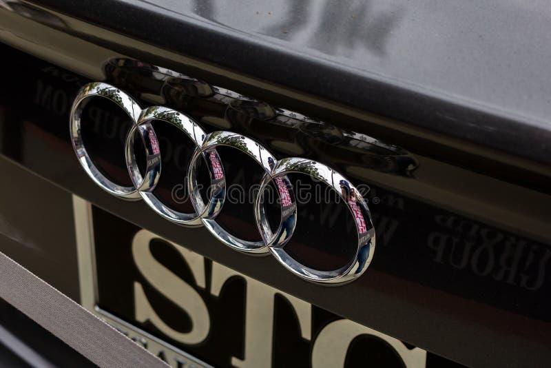 Audi stamlogo royaltyfri foto