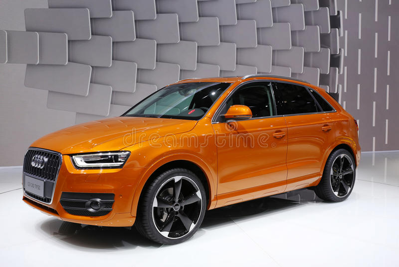 Audi Suv photo stock