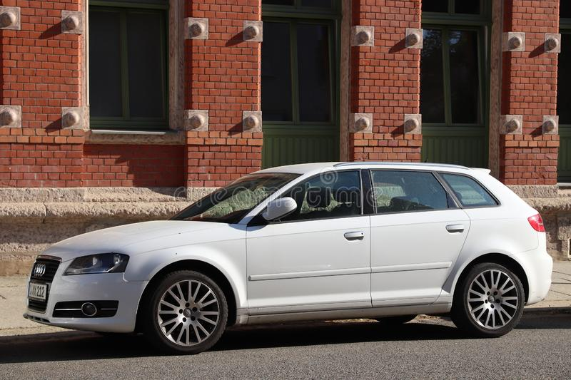 Audi A3 SW stock image