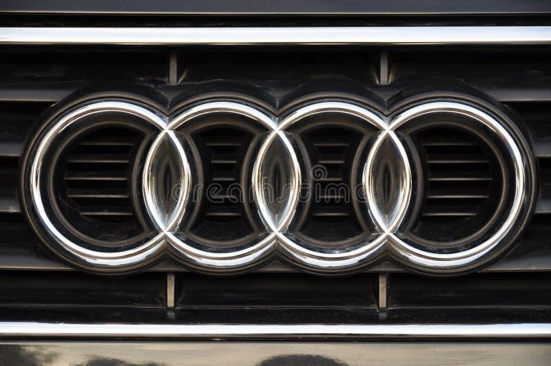 Audi symbol stock photography
