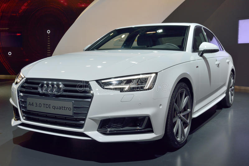 Audi A4 3 0 TDI images stock