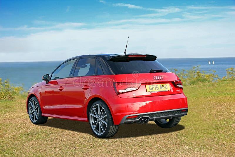 Audi a1 tfsi royaltyfria foton