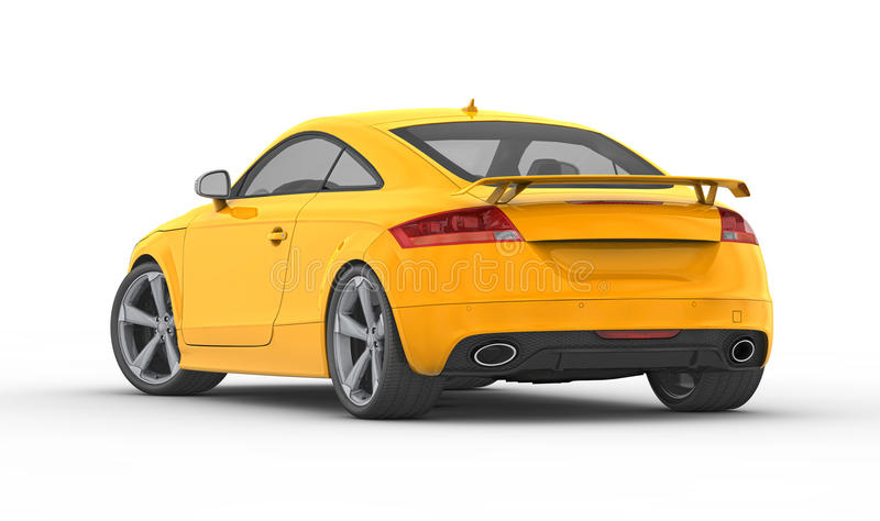 Audi TT RS (2010) stock image