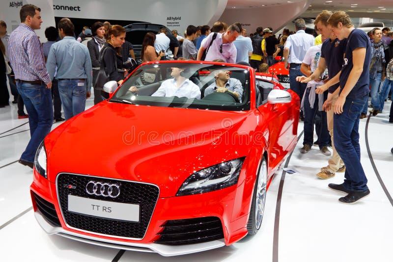 Download Audi TT RS editorial stock photo. Image of elegant, audi - 21370753