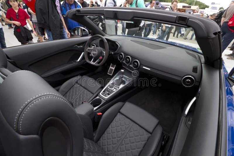 Audi TT RS Roasdster fotos de archivo libres de regalías