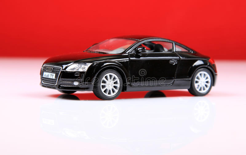Audi tt sports. The Audi TT is a two-door compact sports car manufactured by Audi Hungaria Motor Kft. in Győr, Hungary, since 1998, for the German automaker stock photography