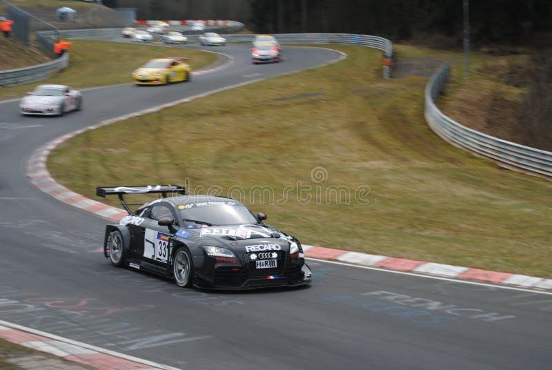 Audi TT VLN 1 2015 fotografía de archivo libre de regalías