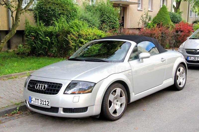 Audi TTT photo libre de droits