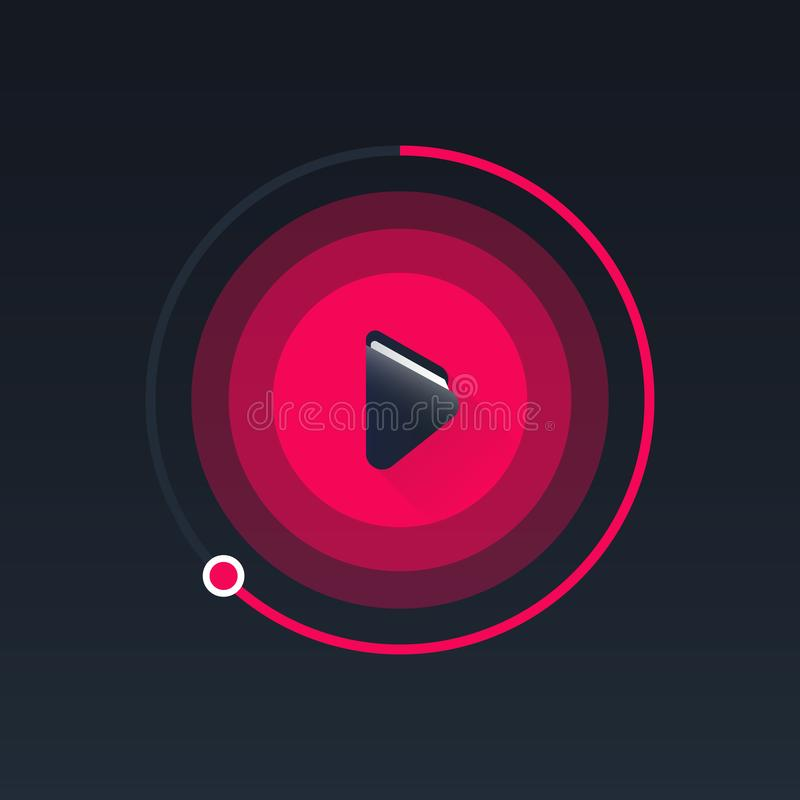 Audia książkowy logo, ikona/ Sztuki ilustracja ilustracji