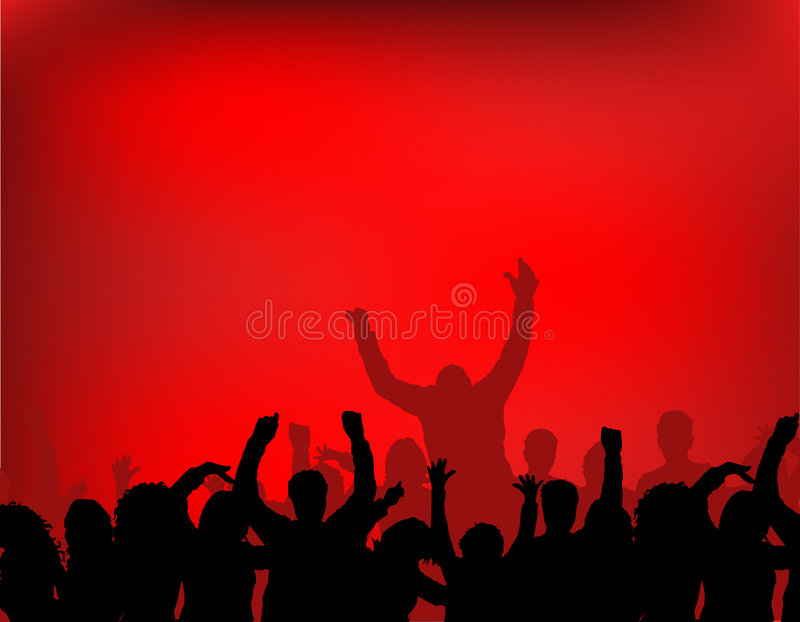 Download Audience stock vector. Illustration of digital, performer - 459485