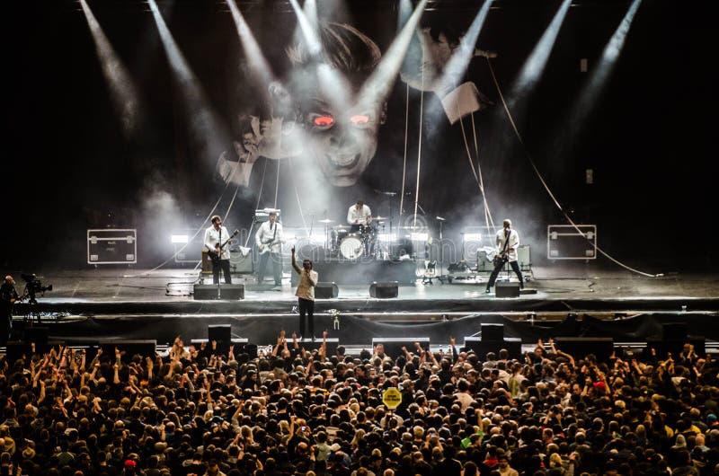Audience, Band, Concert stock photos