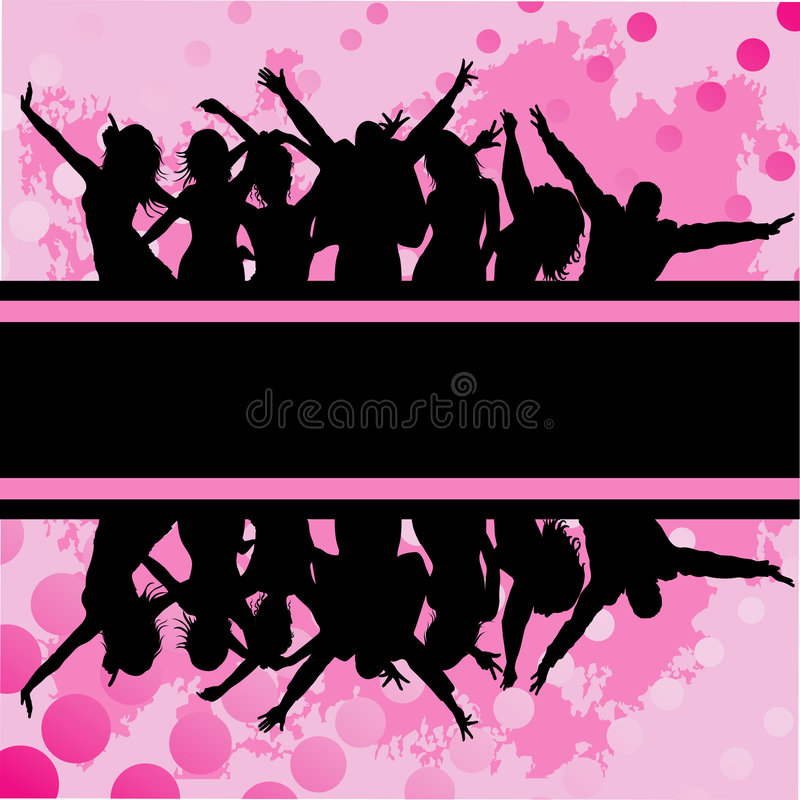 Download Audience cheering stock vector. Illustration of club, background - 8654241