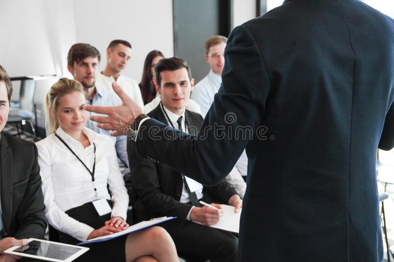 Audience listening to speaker royalty free stock photography