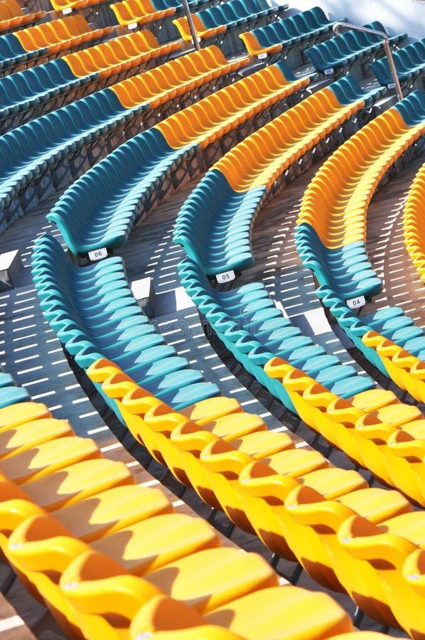 audience seats stock photo