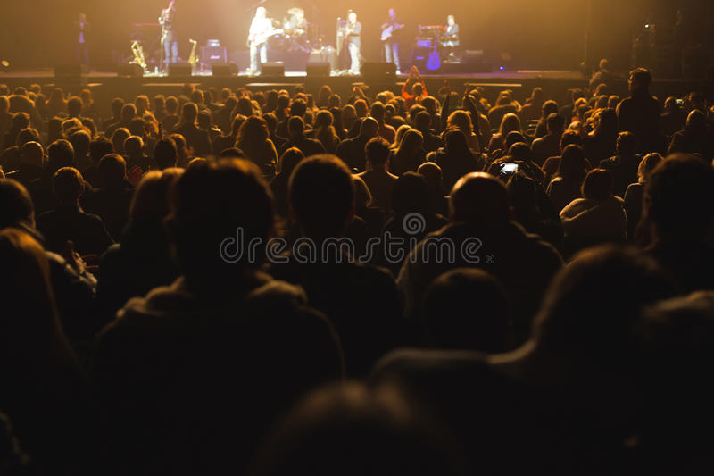 Download Audience Watching The Scene With Artists. Editorial Stock Image - Image: 83702324