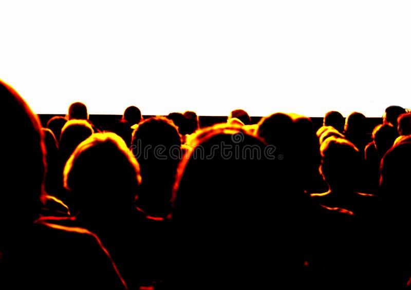 Audiencia foto de archivo libre de regalías