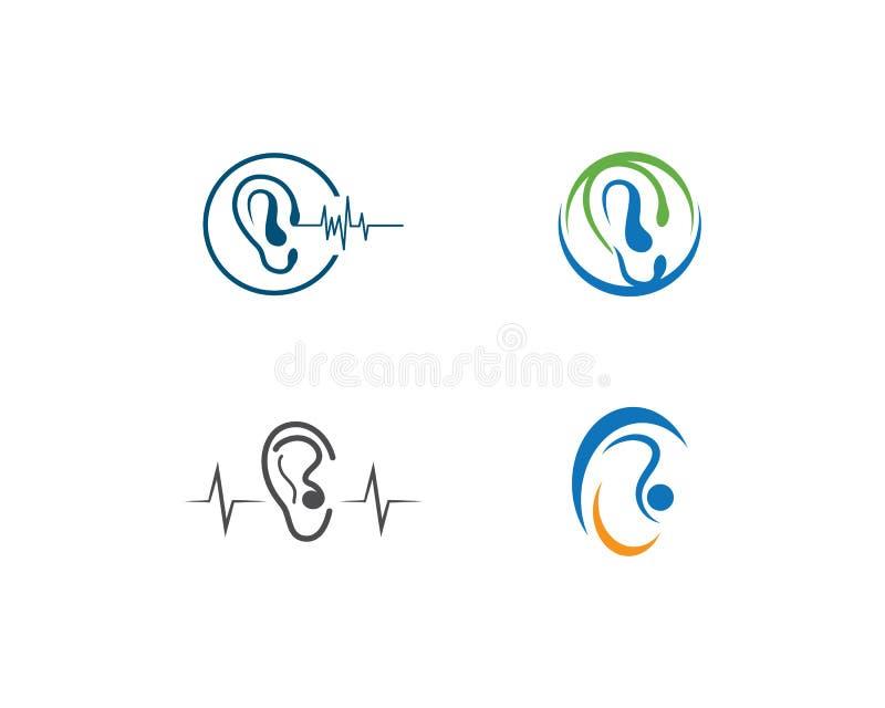 Audiencia Logo Template ilustración del vector