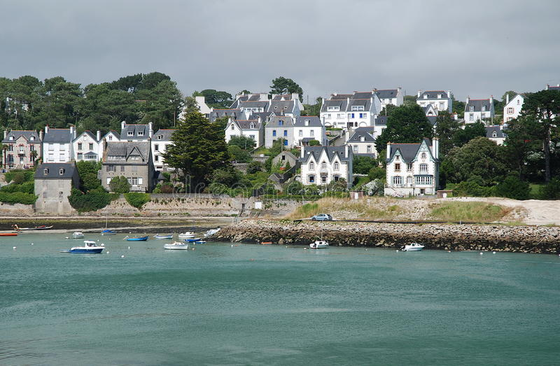 Download Audierne, Brittany stock image. Image of bretagne, historical - 27819009