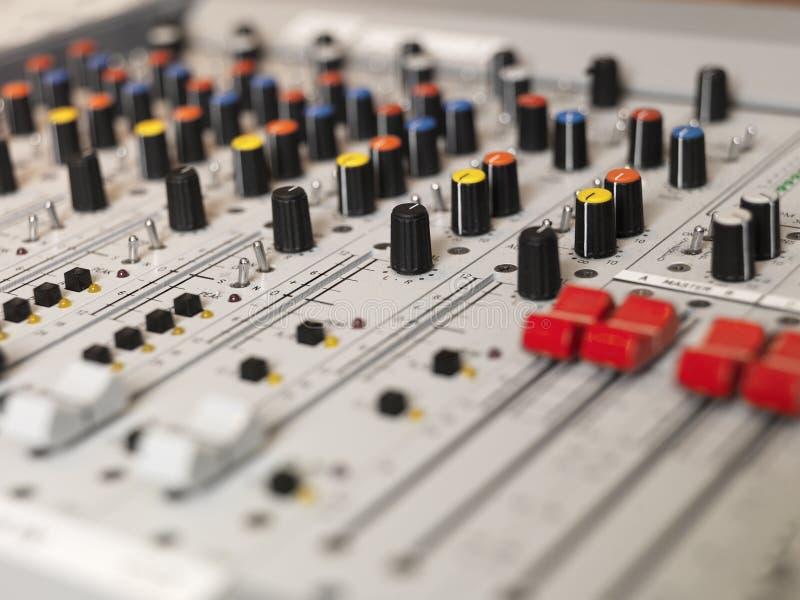 Audio Apparatuur stock afbeelding