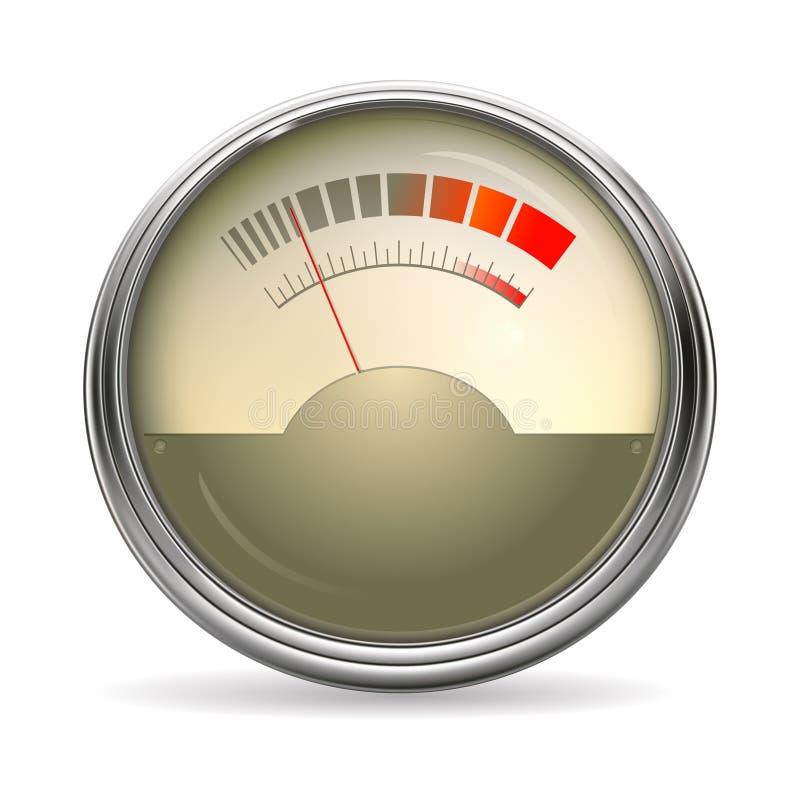 Audio calibro illustrazione di stock