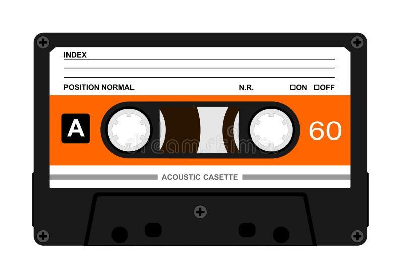 Audio Casette royalty free illustration