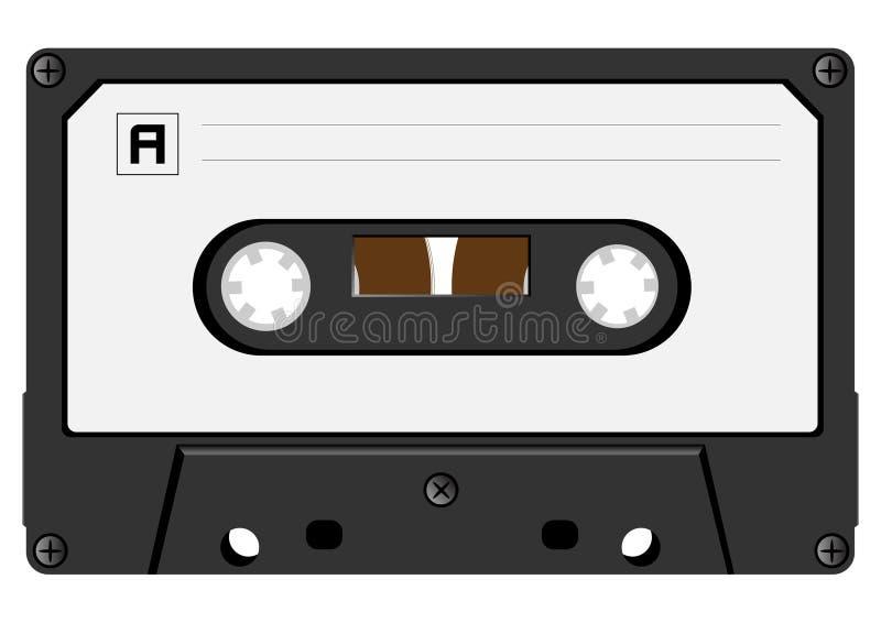 Download Audio cassette stock vector. Image of closed, cassete - 18801708