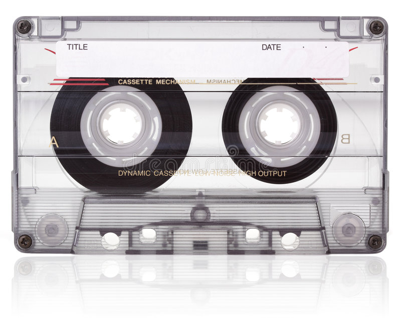 Audio cassette. royalty-vrije stock foto's