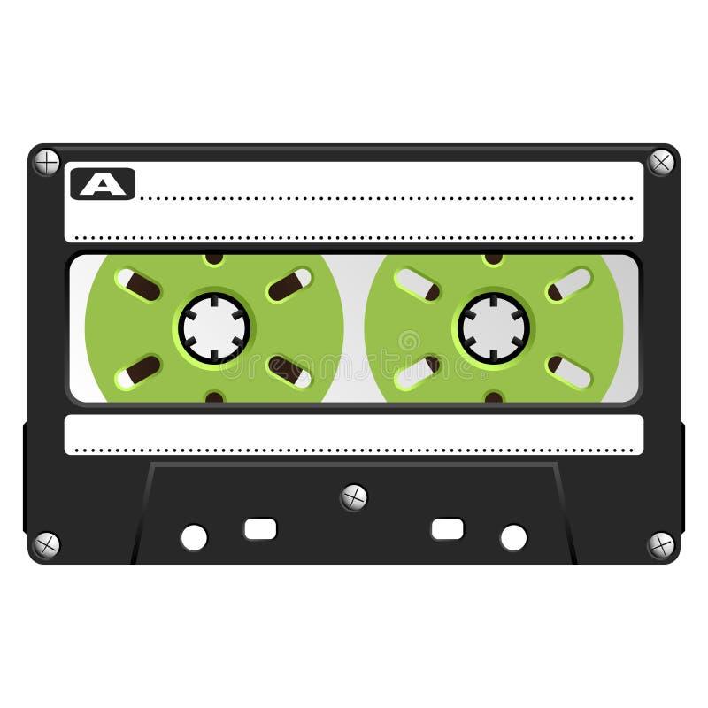 Audio Cassette black transparent