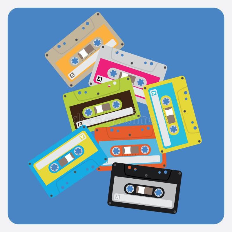 Audio Cassettes Royalty Free Stock Photos