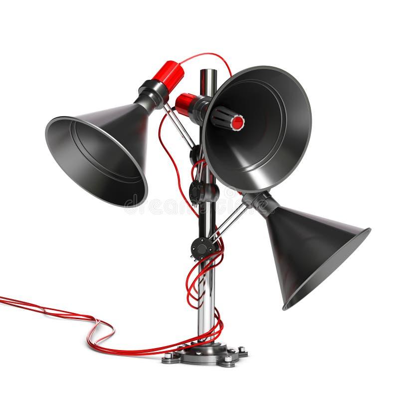Audio comunicazione illustrazione di stock