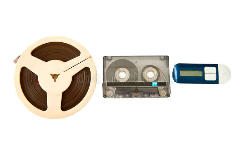 Download Audio devices stock image. Image of cassette, device - 14857313