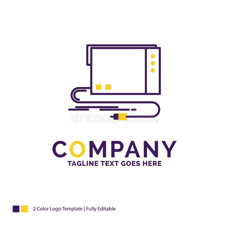 Audio di Logo Design For di nome di società, carta, esterno, interfaccia, s royalty illustrazione gratis