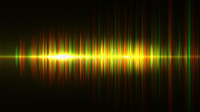 Audio digital equalizer technology, pulse musical.abstract of so stock illustration