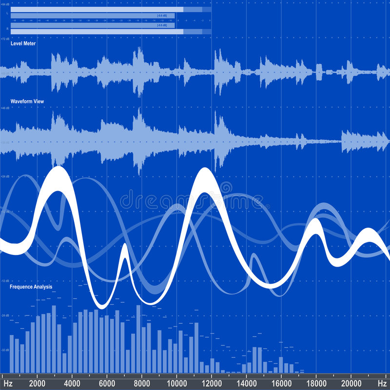 Free Audio Equalizer Royalty Free Stock Photos - 955978