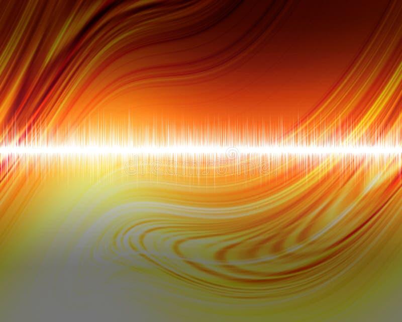 Audio golf vector illustratie
