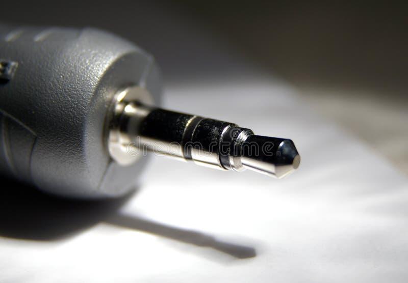 audio jack stock image