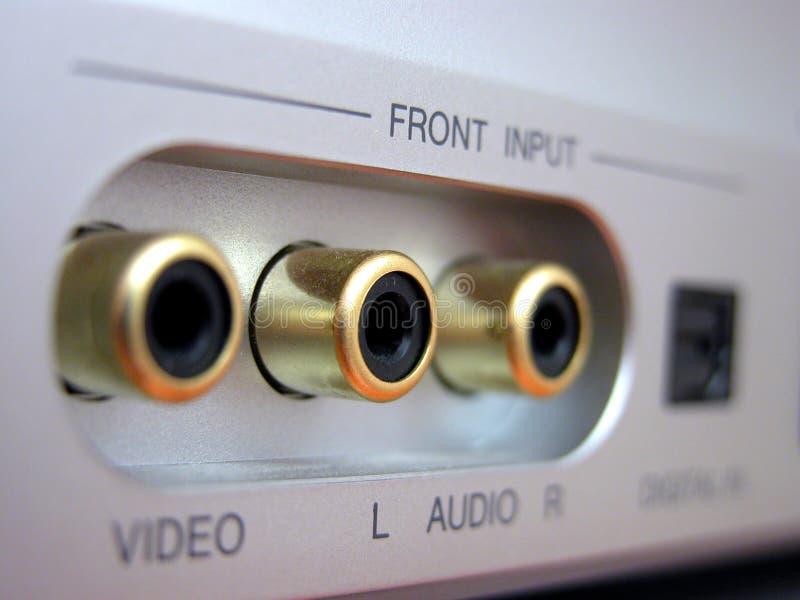 Download Audio jacks stock image. Image of jack, sound, music, input - 2083