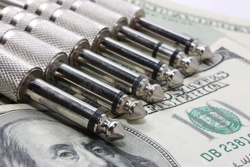Audio jacks on moneys