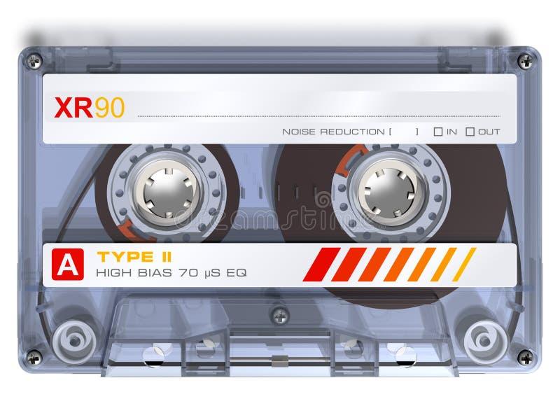 audio kaseta royalty ilustracja