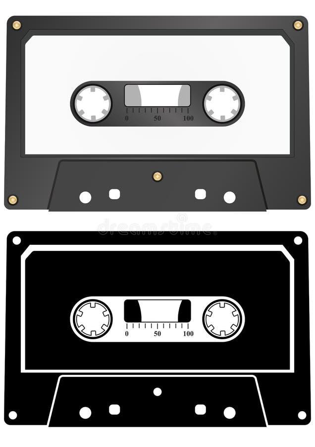 Audio kaseta ilustracji
