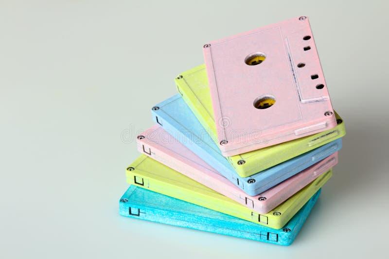 Audio kasety obrazy stock