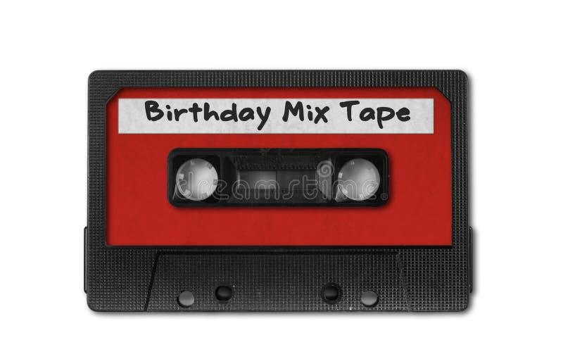 audio kasety retro taśmy rocznik zdjęcie royalty free