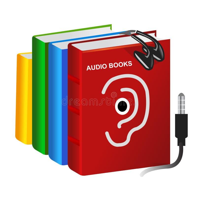 audio książki ilustracja wektor