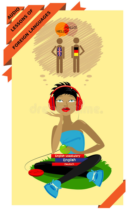 Audio lessons of foreign languages