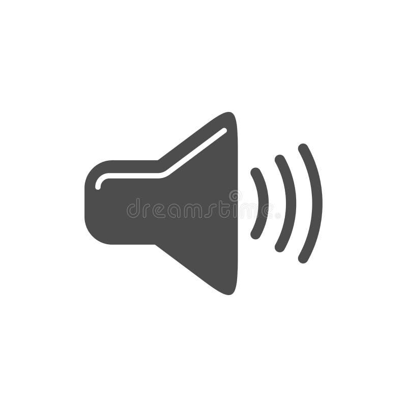 Audio Level Simple Icon Design. Audio Level Simple Icon Vector Symbol Graphic Logo Design stock illustration