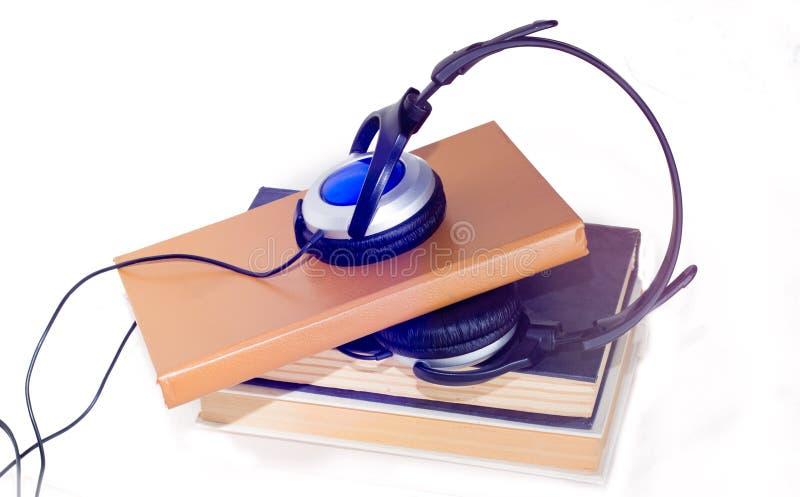 Audio-livro imagem de stock