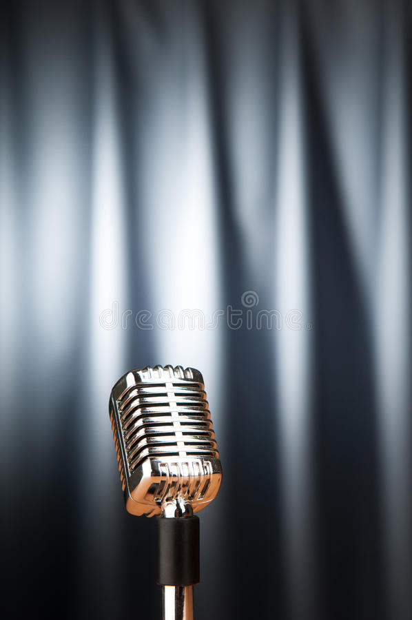 Download Audio microphone stock image. Image of media, equipment - 19131883