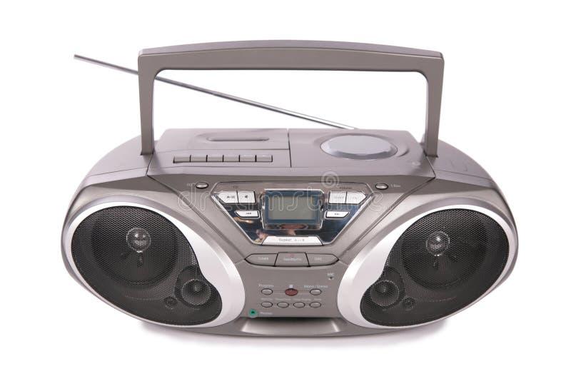 Audio mini-sistema, radio, giocatore immagine stock libera da diritti
