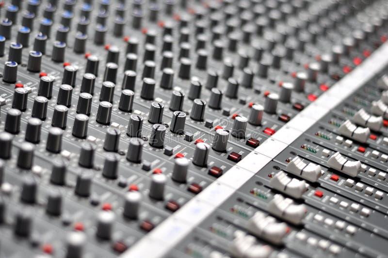 Audio mix pult