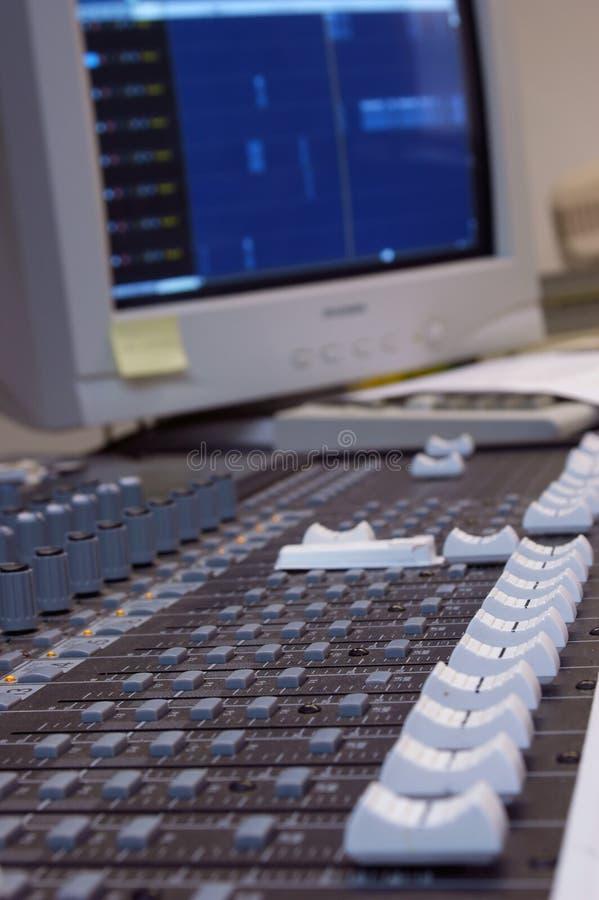 audio mixer στοκ φωτογραφίες
